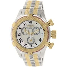 Invicta Women's Bolt 17430 Silver Stainless-Steel Swiss Chronograph Watch