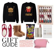 """""""#giftguide #bff #contest"""" by queenebitsam ❤ liked on Polyvore featuring UGG, MICHAEL Michael Kors, Ilia, Miss Selfridge and Dorothy Perkins"""