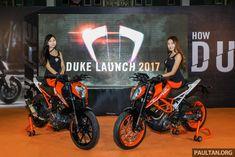 2017 KTM Duke 250 ve Duke 390 yenilendi Ktm Duke, Product Launch, Bike, Bicycle, Bicycles