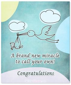 Newborn Baby Congratulation Messages with Adorable Images Congratulations! May God bless, guide and watch over you, your baby and your family! Baby Congratulations Messages, New Baby Quotes, Baby Clothes Quilt, Baby Boy Newborn, Baby Birth, Baby Baby, Wishes For Baby, Baby Development, New Baby Boys
