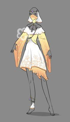 Fantasy Outfit #8 - OTA open by Nahemii-san