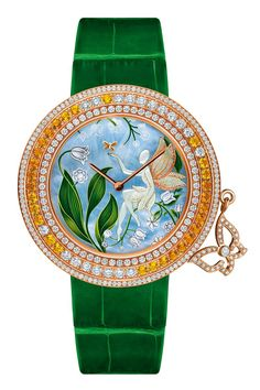 Van Cleef lilly of the valley faire watch