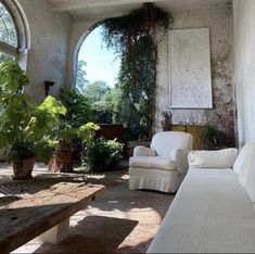 Axel Vervoordt, Winter Garden, Life Is Beautiful, Old Things, Home And Garden, Relax, Patio, Exterior, Studio