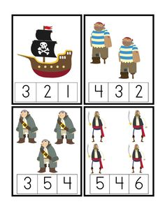 Pirate Adventure Printable ~ Preschool Printables