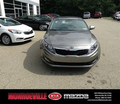 Thank you to Lisa Flickinger on your new 2013 Kia Optima from Andy Milner and everyone at Monroeville Kia Mazda!