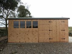 Wooden16 X 10  Heavy Duty t&g timber shed,workshop