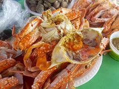 กินปู ดูทะเล ที่สะพานปูชัก หาดชะอำ สำหรับคนชอบกินปู (ราคาไม่แพง)