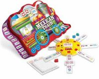 Mexican Train Deluxe Domino Set With Numbers In Collectable Tin Mexican Train Dominoes, Are You The One, Board Games, Numbers, Gifts, Tin, Presents, Tabletop Games, Pewter