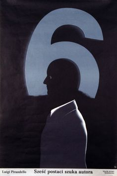 Six Characters Looking for an Author, Polish Theater Poster