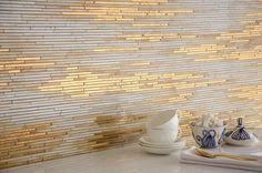 Cheap And Easy Cool Ideas: Peel And Stick Tile Backsplash backsplash edge decor.Backsplash Around Window Area Rugs faux marble backsplash.Travertine Backsplash Behind Stove. Deco Design, Küchen Design, Tile Design, Interior Design, Design Trends, Design Ideas, Classic Decor, Ravenna Mosaics, New Ravenna