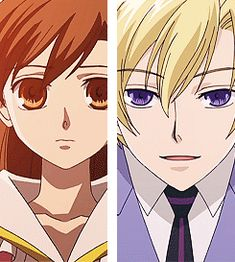Ouran High school host club characters