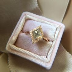 2 carat champagne diamond rose gold engagement ring