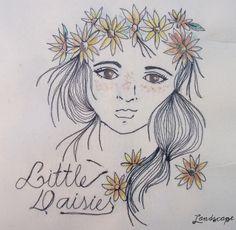 My Own Landscape Dreams: Ilustração Little Daisy + Descontos na Loja Landscape