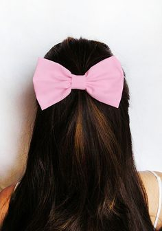 Hair Bow Pink HairBow Clip Adults Hair Clips Fabric Bow Light Pink fabric Clip for kids Cute Hair Bows for women bows Baby Pink hairbows