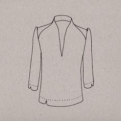 Patron de couture blouse pour femme Aime comme Majestic par Aime comme Marie