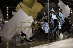Nike LeBron James Retail Windows on Behance