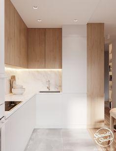 Kitchen Room Design, Modern Kitchen Design, Kitchen Layout, Home Decor Kitchen, Interior Design Kitchen, Home Kitchens, Cuisines Design, Minimalist Kitchen, Küchen Design