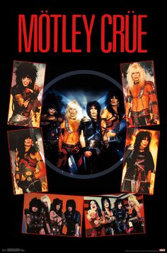 Trends International Motley Crue - Shout at The Devil Wall Poster, x Unframed Version Trends International 80s Rock Bands, Rock And Roll Bands, Rock N Roll Music, 80s Metal Bands, 80s Hair Bands, Rock Band Posters, Rock Band Logos, Motley Crue Poster, Estilo Punk Rock