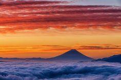 "lifeisverybeautiful: "" Mt.Fuji by Satoru Fukuda """
