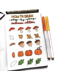 Simple fall doodles for your bullet journal that you need to see! These step by step Halloween doodles are too cute! Simple fall doodles for your bullet journal that you need to see! These step by step Halloween doodles are too cute! Bullet Journal Doodles, December Bullet Journal, Bullet Journal 2020, Bullet Journal Hacks, Bullet Journal Notebook, Bullet Journal Aesthetic, Bullet Journal Ideas Pages, Bullet Journal Inspiration, Bullet Journal Halloween
