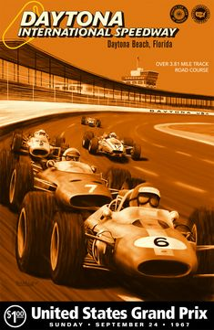 Daytona Speedway programme 1967