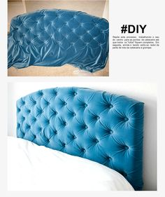 Ideas For Bedroom Furniture Makeover Diy Home Bedroom Furniture Makeover, Home Furniture, Bedroom Decor, Diy Casa, Creation Deco, Diy Headboards, Moda Blog, Diy Home Decor, Cama Box