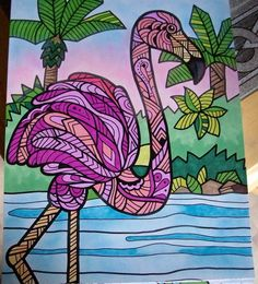 ColorIt Wild Animals Adult Coloring Book   Colorist: Becky Wilson #adultcoloring #coloringforadults #adultcoloringpages #animalcoloringpages