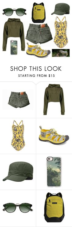 """""""Untitled #1690"""" by moestesoh ❤ liked on Polyvore featuring Boohoo, Étoile Isabel Marant, Keen Footwear, Outdoor Research, Casetify, Ace and Sherpani"""