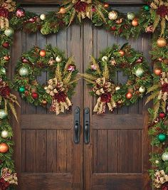 Evergreens that never fade – that's the hallmark of our Florist Choice Christmas Greenery Collection by Frontgate Christmas Greenery, Christmas Swags, Merry Christmas To All, Outdoor Christmas, Christmas Holidays, Christmas Decorations, Victorian Christmas, Christmas Ornaments, Holiday Decor