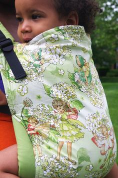 Canvas - Abby's Lane Exclusive 'Lucy's Garden' TULA BABY CARRIER; Released May 2015