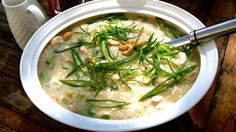 Snapper & Smoked Fish Congee