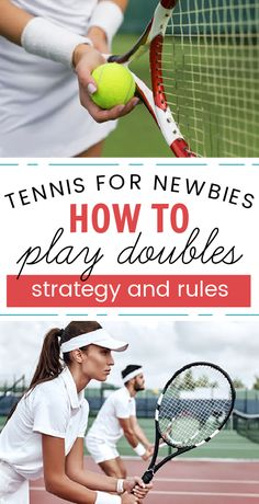If you are learning how to play doubles tennis then you need to know the rules and strategy. Learn everything you need to play doubles tennis.