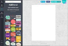 Kennen Sie Canva? Das Gratis-Tool zum Erstellen von Bloggrafiken, Fotocollagen oder Facebook Coverbilder.