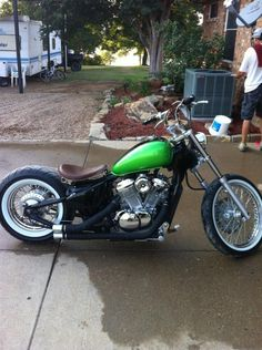 Honda Bobber To Cruise Around Town Plus The Big E Would Approve Of Color