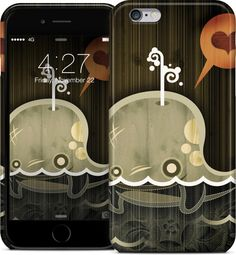 The Enamored Whale iPhone Case