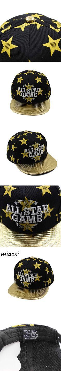 [miaoxi] Hot Sale Children Baseball Cap All Stars Boy Hat Summer Caps For Boys Kids Fashion Snapback Girls Hip Hop Bone Hats