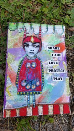Post card art 4x6..my art!