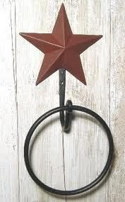 Primitive Star Towel Holder  from Country Craft House