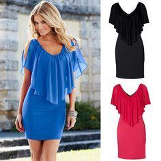 New Sexy Women Summer Dress Casual Boho Short Evening Party Dress Beach Dresses #Unbranded #Sundress #Casual