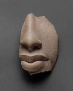 Nose and lips of Akhenaten