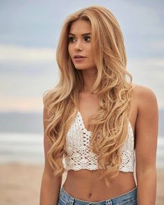 likes, 378 comments – Pamela Reif (Pamela Reif) on In … – Hair styles Golden Blonde Hair, Blonde Hair Looks, Honey Blonde Hair, Golden Hair Color, Blonde Orange Hair, Blonde Hair For Brown Eyes, Hair Styles 2016, Curly Hair Styles, Hair Shades