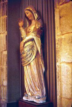 Vierge enceinte Compostelle, Espagne