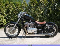 Uploaded for: Filip 1987 Suzuki - Suzuki - ID: 72334 Bobber Kit, Bike Craft, Yamaha Virago, Full Size Photo, The Marauders, Old Skool, Custom Bikes, Cool Bikes, Chopper