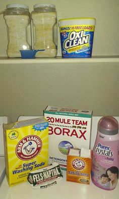 I want to try this new laundry soap recipe with the crystals.