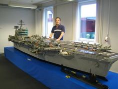 LEGO Aircraft Carrier... Surprised my brother has not done this yet...