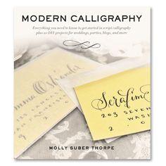 Modern Calligraphy   Molly Suber Thorpe