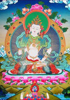 Bodhisattva Vajrasattva.
