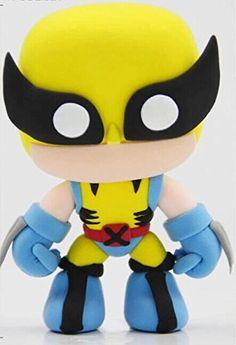The Avengers DIY Toddler Art Modeling Mini Clay - Wolverine: Amazon.co.uk: Toys & Games