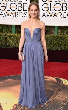 Joanne Froggatt in Reem Acra from 2016 Golden Globes Red Carpet Arrivals | E! Online