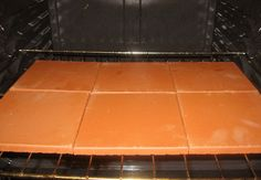 Want wonderful crust on your pizza? Can't find the courage to buy a baking stone? heres a cheap and effective alternative...unglazed quarry stones.  Buy at home improvement stores for pennies!---Must give this a try ;)
